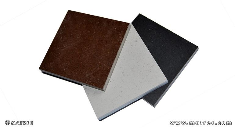 Recycled ceramic material