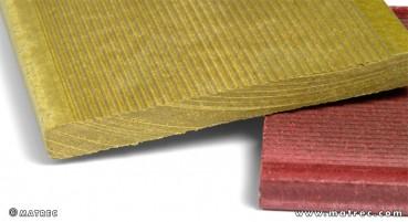 Materiale in legno e PE riciclati