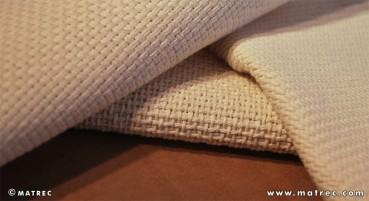 Tessuto in cotone riciclato