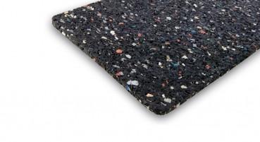 Materiale in gomma riciclata dagli pneumatici