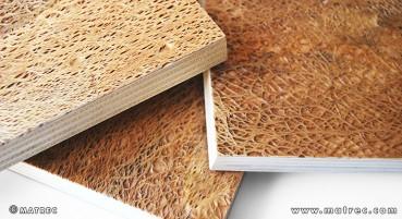 Materiale in fibre di fico d'India