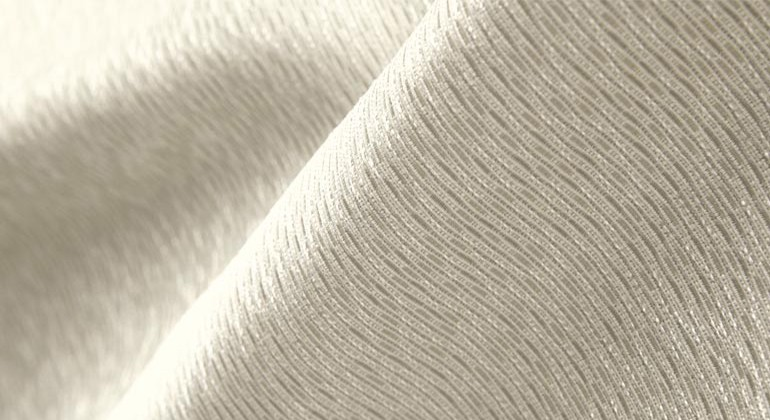 Recycled polyester fabric