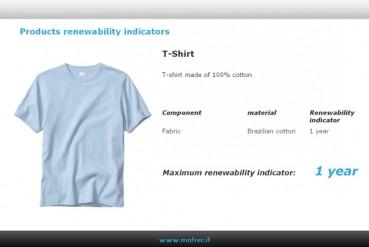 Ecodesign e rinnovabilità dei materiali