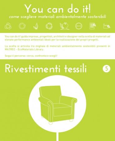 You can do it! Rivestimenti tessili