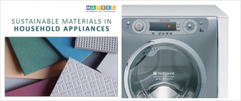 Sustainable materials in household appliances
