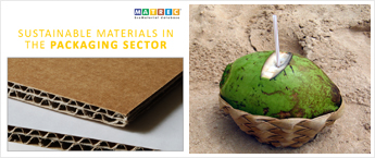 Sustainable materials in the packaging sector