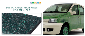 Sustainable materials for vehicles