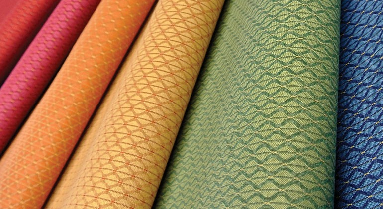 100% recycled polyester fabric