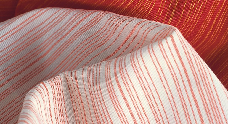 Fabric made of certified cotton