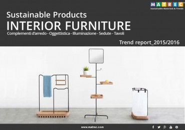 Sustainable: Sustainable Products: INTERIOR FURNITURE 2015/2016