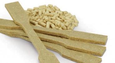 WPC composto da fibre di legno, cellulosa e PLA