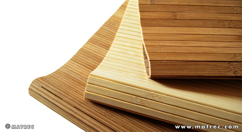 Flexible bamboo material