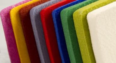 Materiale in feltro di lana