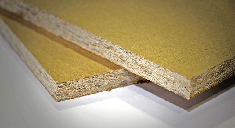 Structural panel made of 100% recycled paper