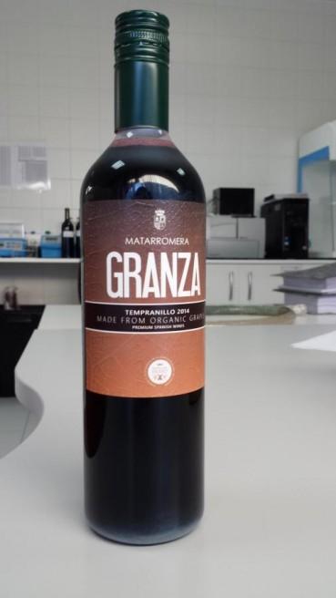 Bottiglia di vino in bio-plastica
