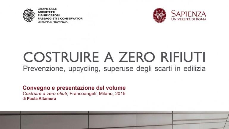 (Italiano) Matrec al convegno: COSTRUIRE A ZERO RIFIUTI, Roma 30 giugno 2016