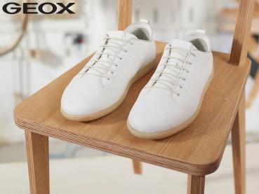 Geox, nuova calzatura in materiali naturali