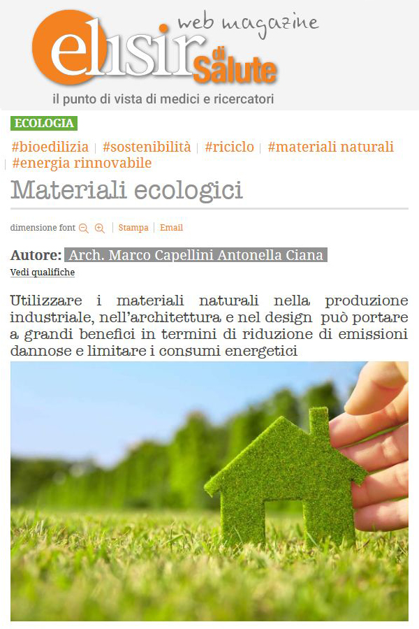 Materiali ecologici