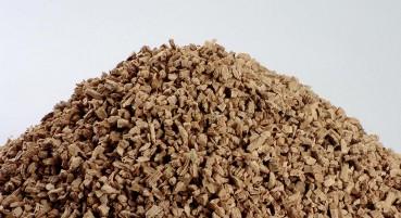 Granuli di sughero riciclato