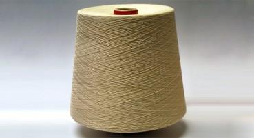 Filato in fibre di cipresso e cotone
