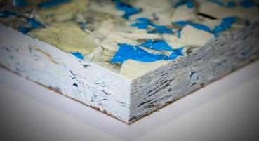 Pannello in carta riciclata post-consumo