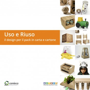 Use and reuse the design for the paper and cardboard pack