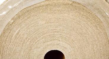 Materiale in 100% fibre di canapa e lino