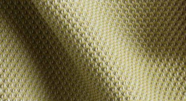 Material made of polymer fibre, wool and beech