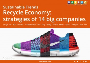 Sustainable: Sustainable Trends. Recycle Economy: strategies of 14 big companies