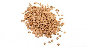 100% recycled cork granules
