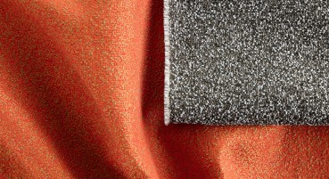 Recycled polymer fibre material