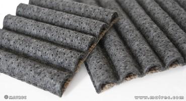 Materiale in juta e lana