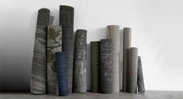 Material made of recycled nylon yarn
