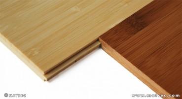 Tavole composte da due strati di bambù