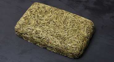 Material made of needles of coniferous trees