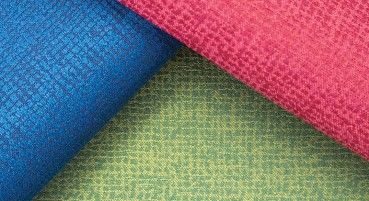 Fabric made of recycled polyester