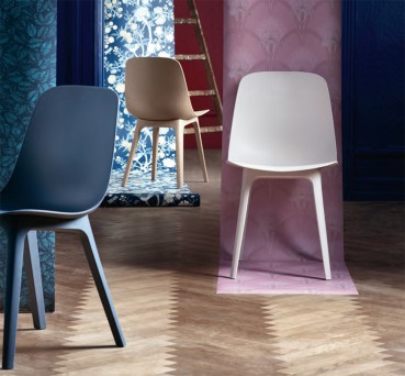 IKEA: recycled plastic for chairs