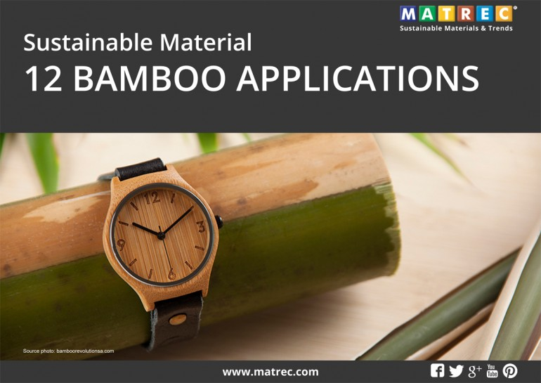 Report. Sustainable material: 12 bamboo applications