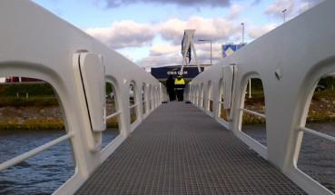 Ponti biobased nel porto di Rotterdam