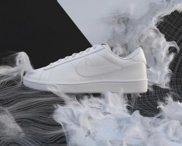 Nike: scarpa in cuoio riciclato
