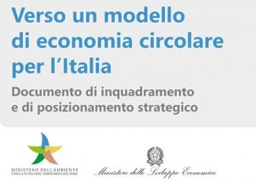 Documento finale: Verso un modello di economia circolare per l'Italia