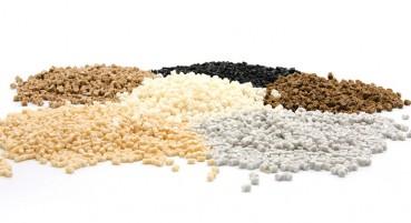 Materiale Biopolimero con farine di cereali