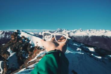 Occhiali dagli snowboard