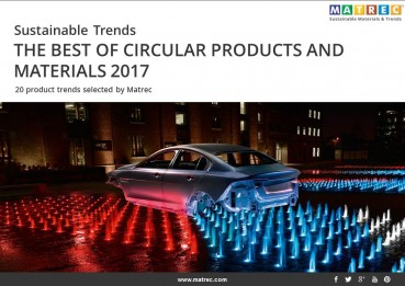 SUSTAINABLE TRENDS: THE BEST OF CIRCULAR PRODUCTS AND MATERIALS 2017