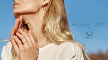 Recycled gold jewelry by Dell