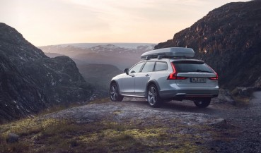 Volvo V90 Cross Country made of recycled plastic