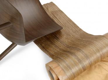 Sedia in fibra di lino