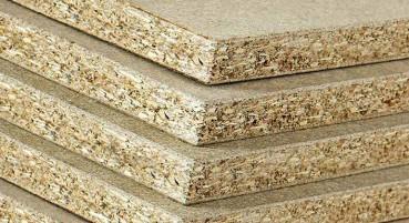 Pannello in particelle di legno riciclate