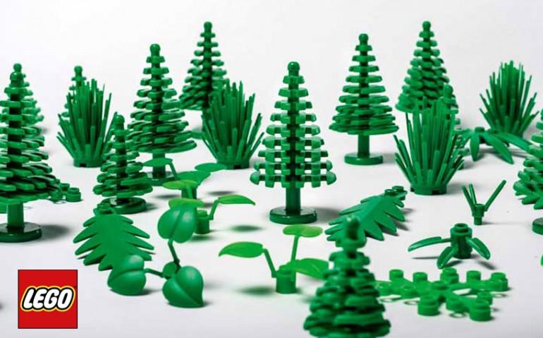 LEGO presenta i primi mattoni sostenibili