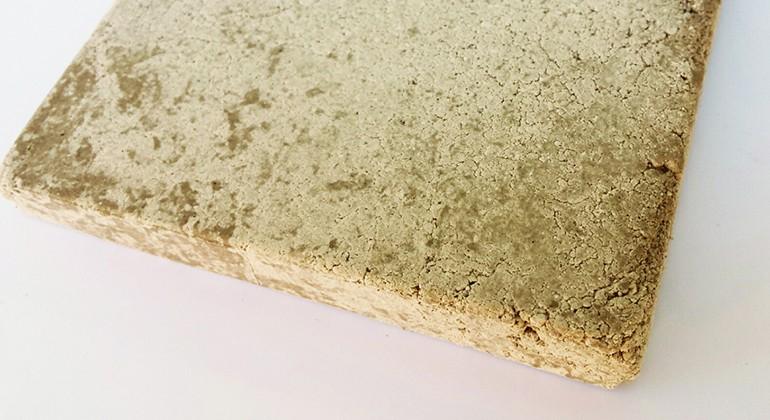 Materiale dal riciclo degli scarti di lavorazione delle pietre